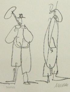 Armin Mueller-Stahl, Grafik Ständchen II