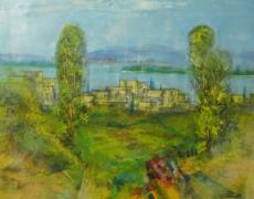 Ernst-Peter Rade, Sommertag zwischen Flüssen