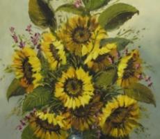 Günther Frühmesser, Sonnenblumenstrauß