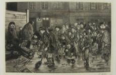 Heinrich Zille, Weihnachtsstimmung