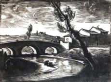 Herbert Tucholski, Flusslandschaft