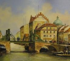 Hermann Muth, Jungfernbrücke