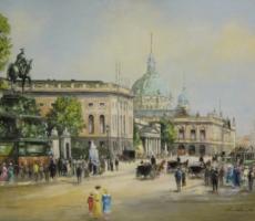 Hermann Muth, Unter den Linden