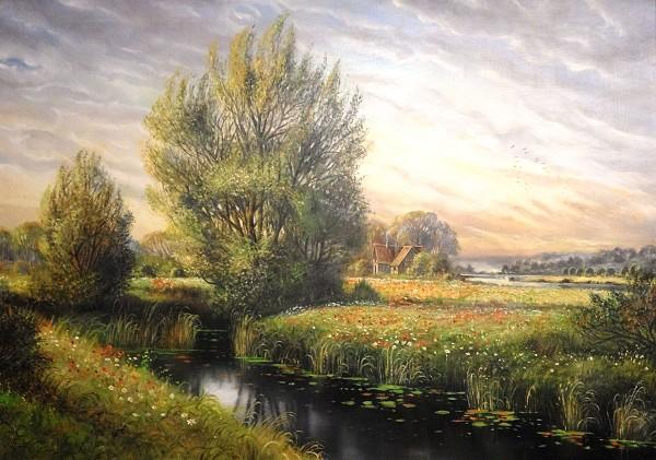 Horst Baumgart, Flusslandschaft