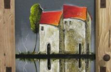Lina Blume, gespiegeltes Haus