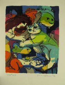 Michael Leu, Frau, Katze & Fisch