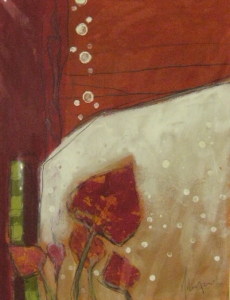 Milena Moré, Blätter (Detail)