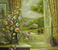 Peter Mehner, Blick aus dem Fenster