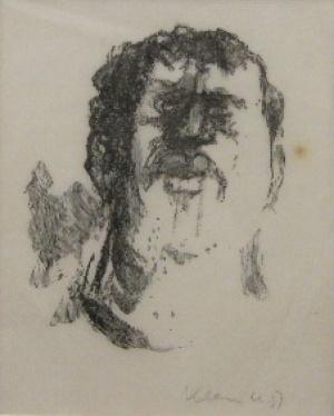 Werner Klemke, Männerkopf (verkauft)